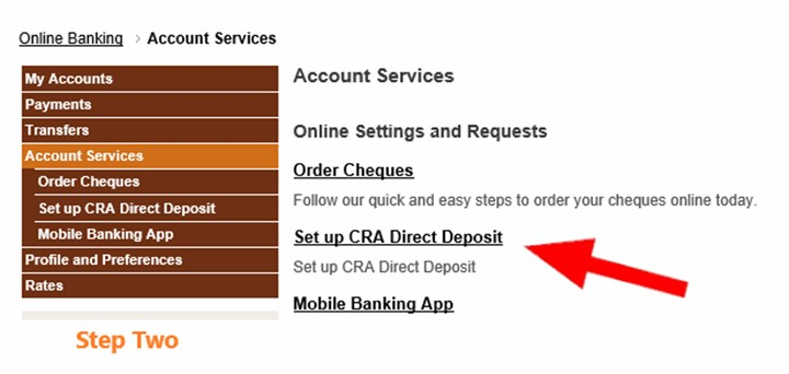 Sign Up For Cra Direct Deposit Me Dian Credit Union